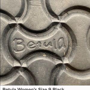 Birkenstock Shoes - Betula Women's Size 9 Black Suede Sandals